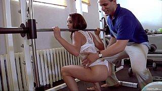 Sweaty gym orgy